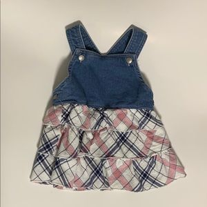 First impression overall dress size 6-9 months